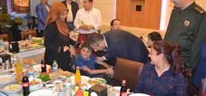 Emniyet Müdürlüğü'nde iftar programı