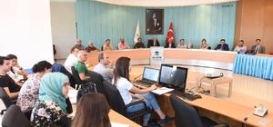 Büyükşehir Belediye Meclisi İmar Komisyonu 1/1000 ölçekli imar planlarını görüşüyor