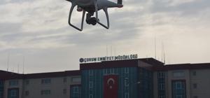Çorum'da trafik denetimleri drone ile yapılacak