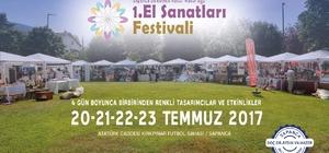 Sapanca el sanatları festivaline hazırlanıyor