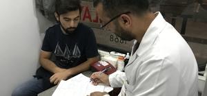 Tokat'ta iftardan sahura kan bağışı