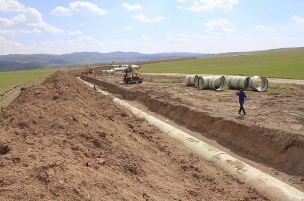 55 bin dekar arazi suyla buluşturulacak