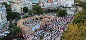 Kumluca'da 10 Bin kişilik iftar sofrası kuruldu