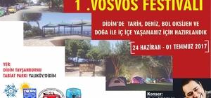 Didim 1. Ulusal Vosvos Festivali 24 Haziran'da başlıyor