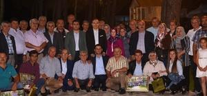 Kemalpaşa'da muhtarlarla iftar programı