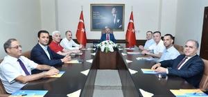 MTSO yönetiminden Vali Çakacak'a veda ziyareti