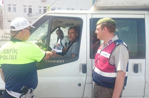 Zonguldak Emniyeti trafik kurallarına dikkat çekti