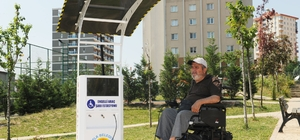 Başkan Yazıcı, engellilerin yaşamını kolaylaştıran bir hizmeti daha gerçekleştirdi