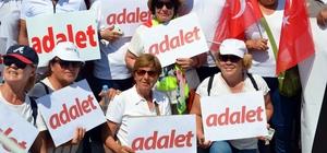 CHP'den Soma'da 'Adalet Yürüyüşü'