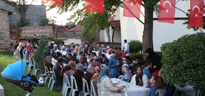 Akşam Türk Ocağı'nda iftar, gece polislerle sahur