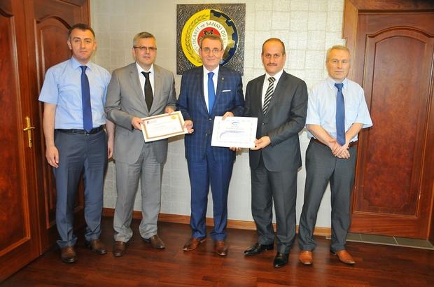 Başkan Murzioğlu'na çifte teşekkür belgesi