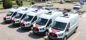 Cenaze nakil hizmetleri filosuna 5 yeni araç