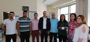 Başkan Dişli'den personele kandil simidi