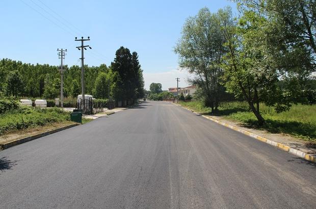 Akyazı Yahyalı'da sıcak asfalt mutluluğu