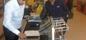 Kars'ta market terazilerinin denetimi devam ediyor