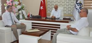 MÜSİAD Şube Başkanı Kalan'a teşekkür plaketi