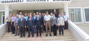 Vali Elban'dan Osmaneli'ne veda ziyareti