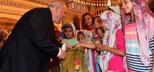 Onikişubat'ta camiler çocuklarla doldu taştı