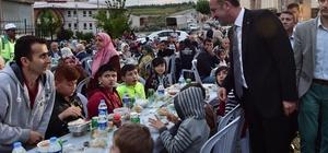Mamak'ta son iftar programı Kıbrısköyü Mahallesi'nde yapıldı