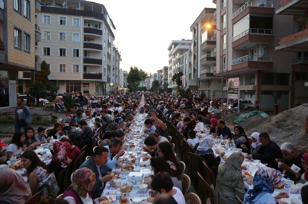 Atakum'da dev iftar buluşması