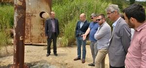 Afjet Genel Müdürü Ulutürk, Belediye Başkanı Saraoğlu'nu ziyaret etti