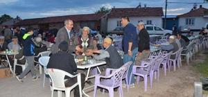 Aslanapa'da mahalle iftarları