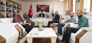 Gazeteciler Cemiyetinden Rektör Coşkun'a ziyaret