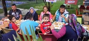 MHP'liler Fırat Yılmaz Çakıroğlu Parkındaki iftarda buluştu