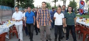 Bismil'de 2 bin kişi iftar sofrasında bir araya geldi