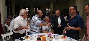 Başkan Arslan Çiğli protokolüne iftar yemeği verdi