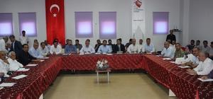 Besni ilçesinde koordinasyon toplantısı yapıldı