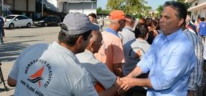 Başkan Uysal, personeliyle bayramlaştı