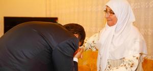 Başkan Fadıloğlu Şehit Annesiyle iftar yaptı