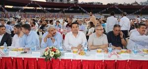 AK Parti Mezitli'den vefa iftarına yoğun katılım