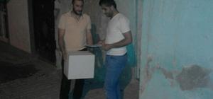 Silvan'da Tader'den Ramazan yardımı