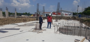 Başkan Baran İlimtepe'de incelemede bulundu