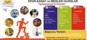 İpekyolu Belediyesinden spor, sanat ve meslek kursları