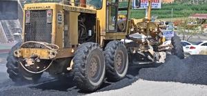 Gölbaşı'nda asfalt ve yama çalışmalarına devam