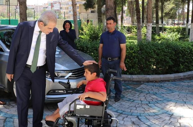 11 Yaşındaki Mehmet'in isteği Haliliye Belediyesi ile gerçekleşti
