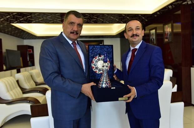 HSK Teftiş Kurulu Başkanı Kolukısa'dan Gürkan'a ziyaret