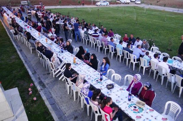 Şehit Barış Aybek için iftar yemeği verildi
