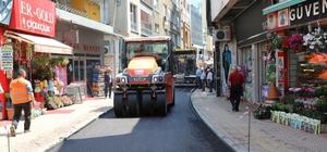 Fatsa'da asfalt çalışmaları