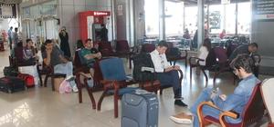 Otobüs terminalinde beklenen bayram yoğunluğu yaşanmadı