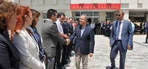 Vali Tapsız, Karaman'a veda etti