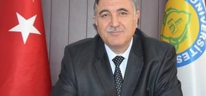 Rektör Taşaltın vatandaşların ramazan bayramını kutladı