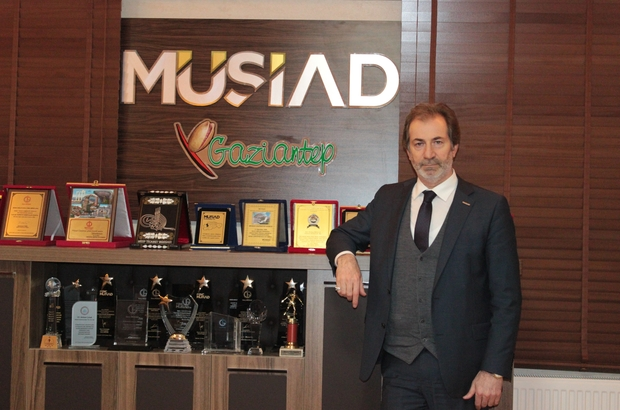 Müsiad Gaziantep Şube Başkanı Mehmet Çelenk'in Bayram kutlaması