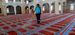 Büyükçekmece'nin camileri bayramda gül kokacak