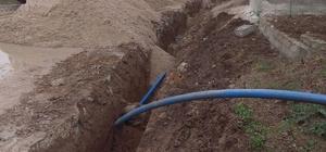 Kapaklı Uzunhacı Mahallesnin içme suyu hattı yenilendi