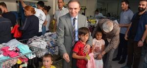 Hakkari'de çocukların bayramlık sevinci
