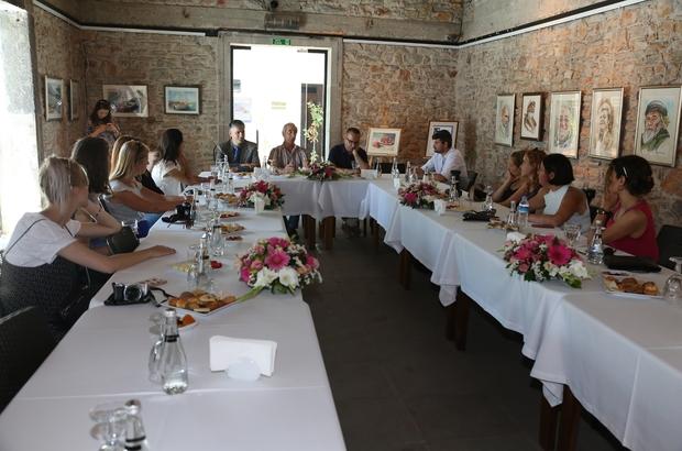 Hollandalı medya mensupları Bodrum'da